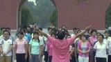 Wie zu Maos Zeiten: Massen-Frühsport in Peking