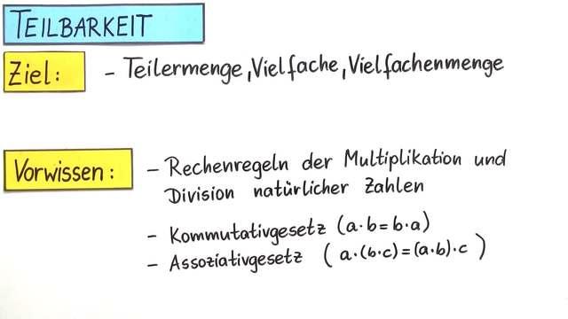 Teilermenge, Vielfache und Vielfachmenge – Einfach erklärt (inkl ...