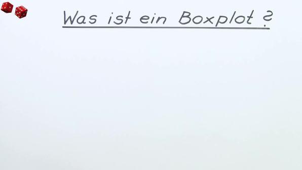 Was ist ein Boxplot?