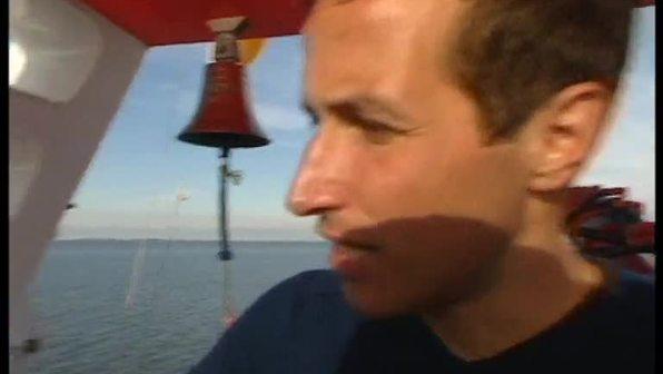 Willi auf See - Feuerlöschübung auf See