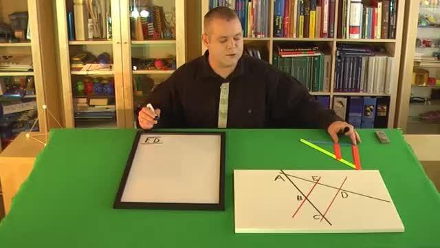 Strahlensatzfigur – Gleichungen erkennen (4)