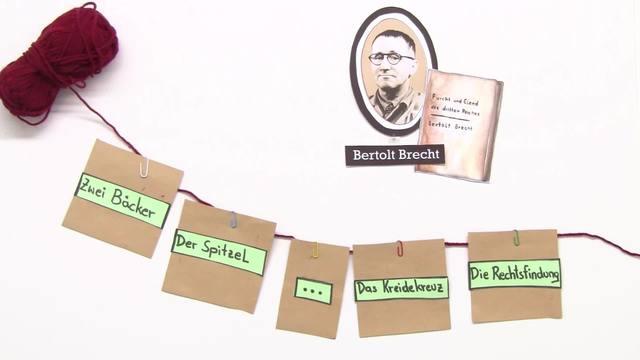 """""""Furcht und Elend des Dritten Reiches"""" – Personenkonstellation (Brecht)"""