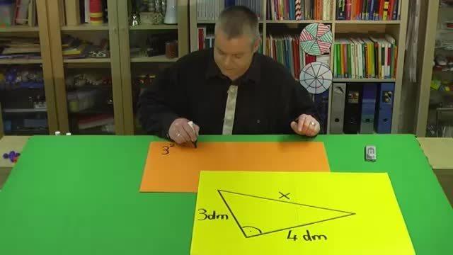Beispiel zum Satz des Pythagoras