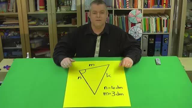 Satz des Pythagoras – Aufgabe 1 mit Variablen (1)