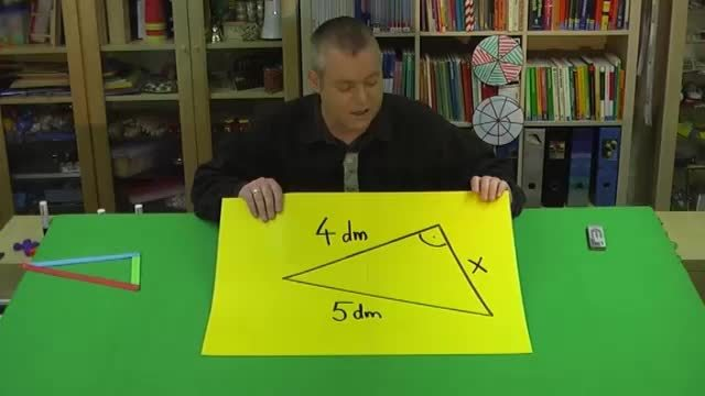 Satz des Pythagoras – Aufgabe 2 mit Zahlen