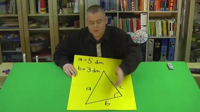 Satz des Pythagoras – Aufgabe 2 mit anderen Variablen