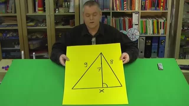 Satz des Pythagoras – Seite berechnen (1)