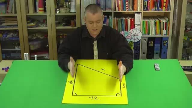 Satz des Pythagoras – Trapezumfang berechnen (1)