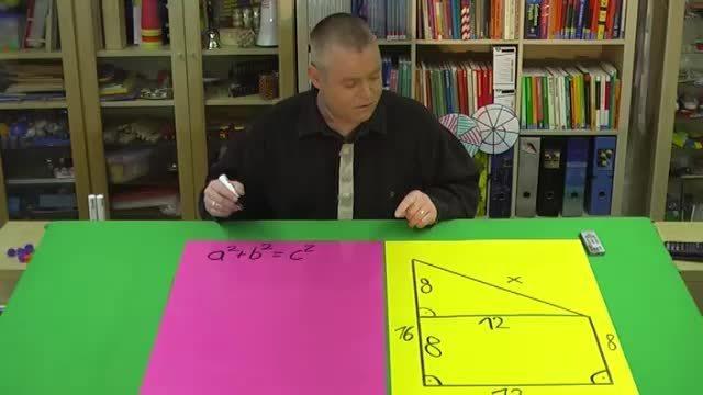 Satz des Pythagoras – Trapezumfang berechnen (2)