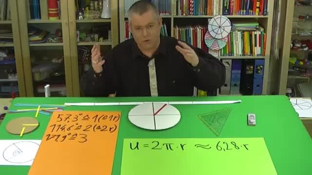Winkel im Bogenmaß als Vielfache von Pi