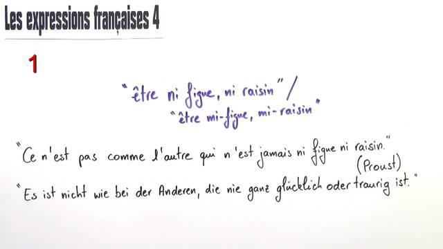 Französische Redewendungen (4)