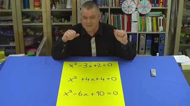 Quadratische Gleichungen – Lösungsmenge