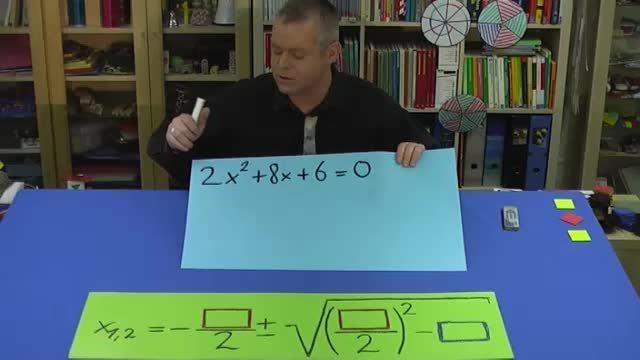 Quadratische Gleichung mit pq-Formel lösen – Erklärung (1)