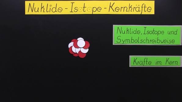 Nuklide - Isotope - Kernkräfte