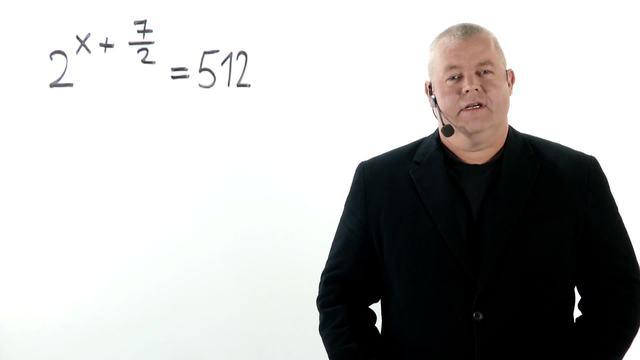 Exponentialgleichungen – Übung (1)