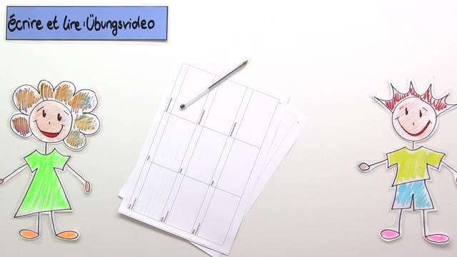 """écrire"" und ""lire"" – Konjugation (Übungsvideo)"