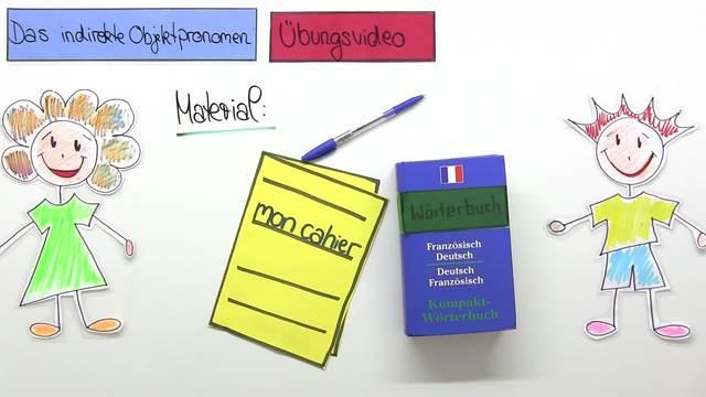 """Indirekte Objektpronomen: """"lui"""" und """"leur"""" (Übungsvideo)"""
