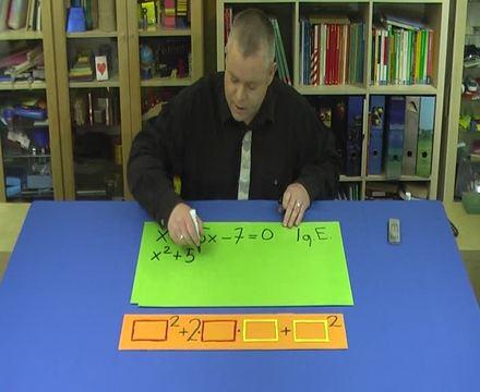 Quadratische Ergänzung – Aufgabe (3)