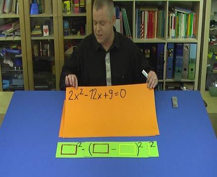 Quadratische Ergänzung – Aufgabe (4)