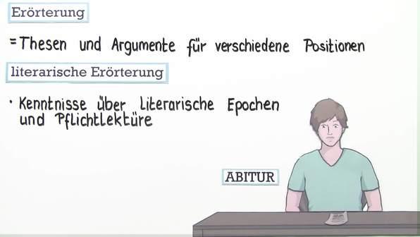Literarische Erörterung