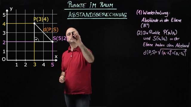 Punkte im Raum – Abstandsberechnung