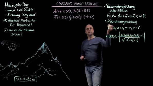 Abstand Punkt-Ebene – Anwendung