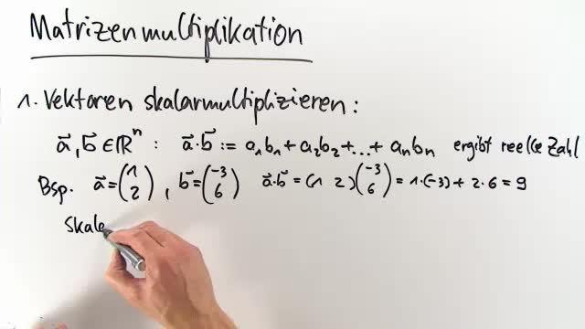 Matrizenmultiplikation – Einfach erklärt (inkl. Übungen)