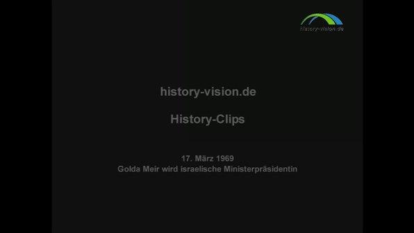 Die israelische Ministerpräsidentin Golda Meir