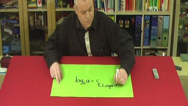 Logarithmus Fachbegriffe
