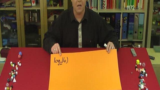 Logarithmus – Einfühurungsbeispiele