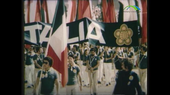 28. Juli 1973 – Eröffnung der Weltfestspiele der Jugend und Studenten in Ost-Berlin