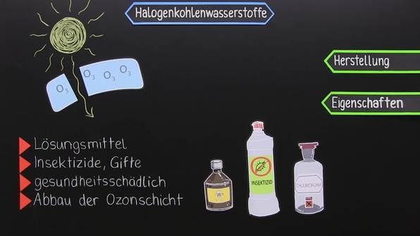 Was sind Halogenkohlenwasserstoffe?