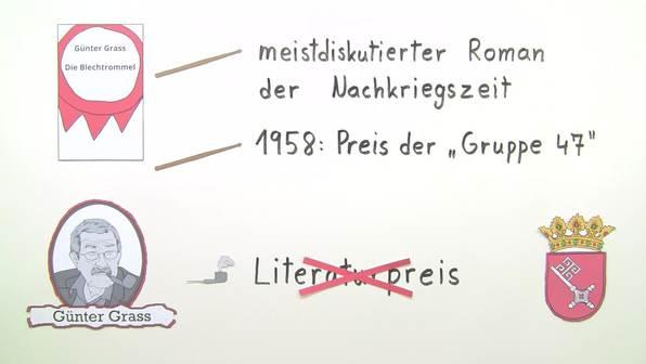 """""""Die Blechtrommel"""" – Interpretationsansatz und Rezeptionsgeschichte (Grass)"""