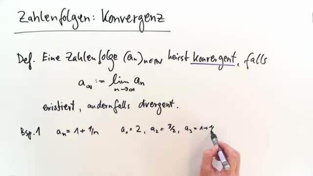 Konvergenz von Zahlenfolgen – Mathematik online lernen