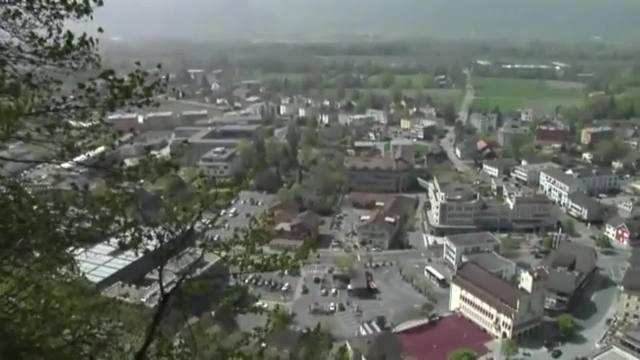 Vaduz - Haupstadt Liechtensteins
