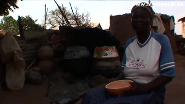 Aidskranke in Togo - Unterstützung