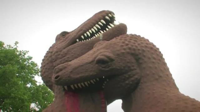 Dinosaurier - Fleisch- und Pflanzenfresser