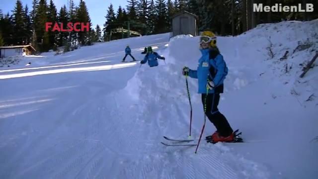 Pistenregeln beim Skifahren