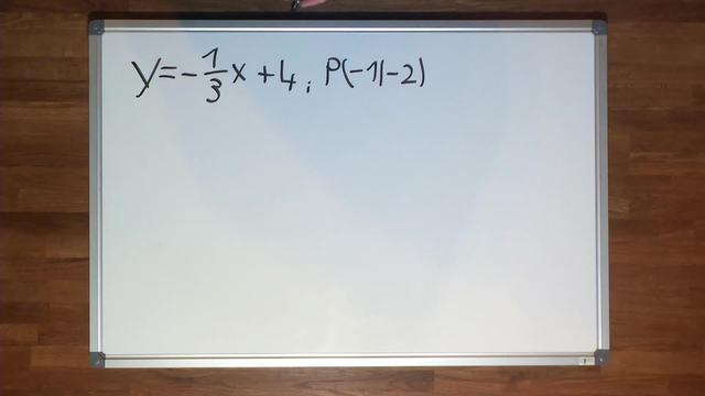 Lineare Funktionen – Funktionsgleichungen bestimmen