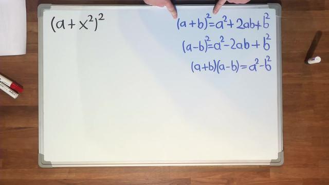 Binomische Formeln – Übung (3)