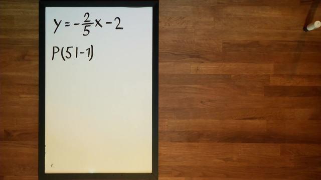 Lineare Funktionen - Parallele durch einen Punkt