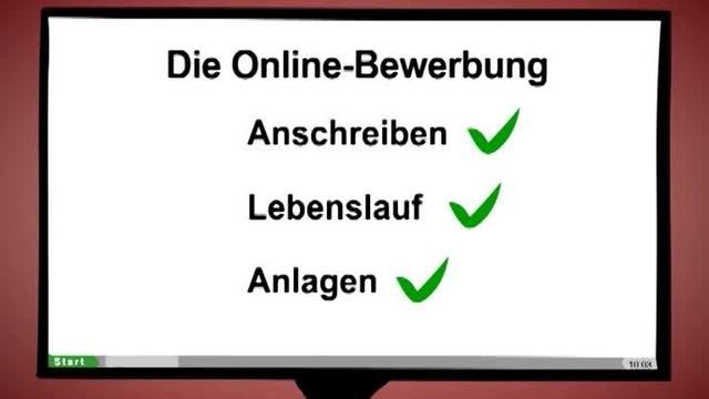 Die Online Bewerbung In 3 Minuten Erklärt