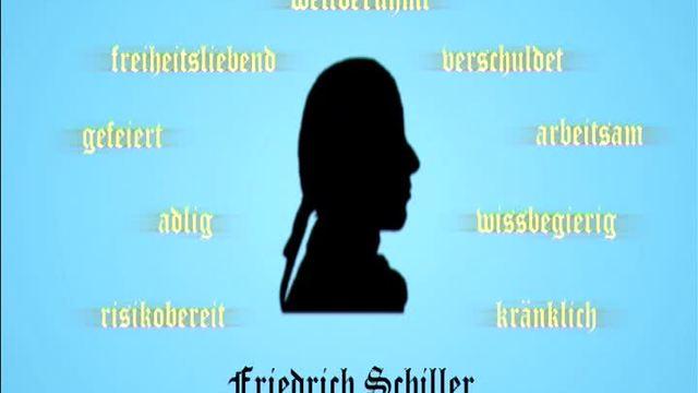 Friedrich Schiller – Kurzbiografie