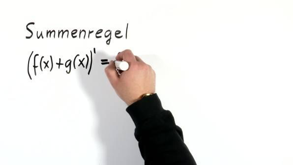 Ableitungen - Summenregel