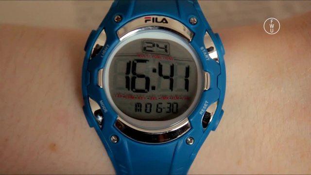 Orientierung in der Zeit –  Uhrzeiten