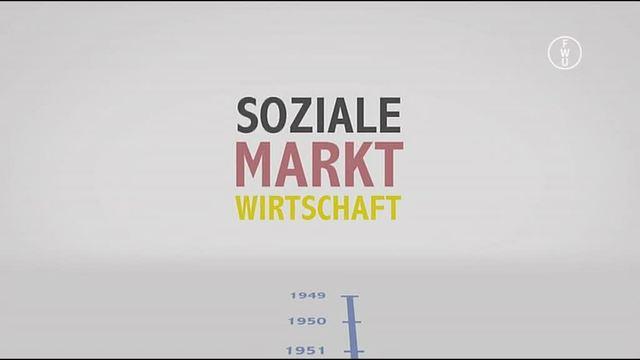 Soziale Marktwirtschaft – Marktwirtschaft mit sozialem Ausgleich
