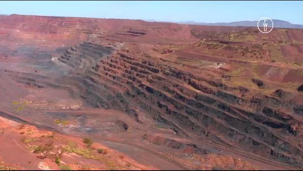 Australiens Eisenerz