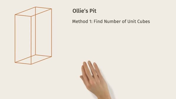Volume with Fractional Edge Lengths and Unit Cubes