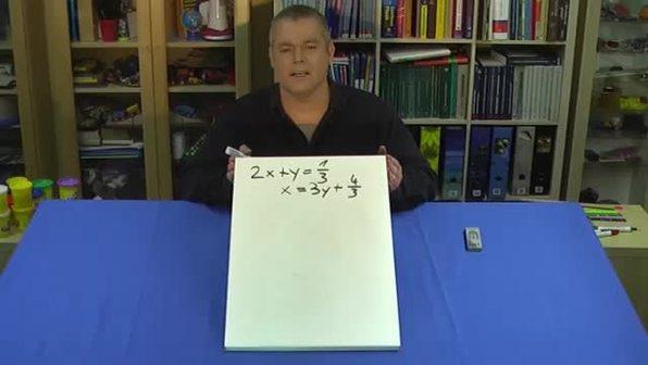Lineare Gleichungssysteme – Aufgabe 2 (1)