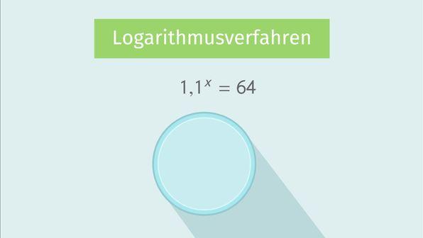 Lösungen von Exponentialgleichungen